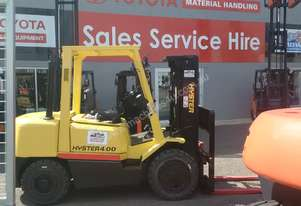 FORKLIFT HYSTER TOYOTA  CONTAINER MAST DIESEL