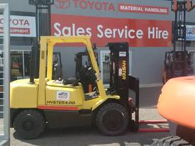 FORKLIFT HYSTER TOYOTA  CONTAINER MAST DIESEL - picture0' - Click to enlarge