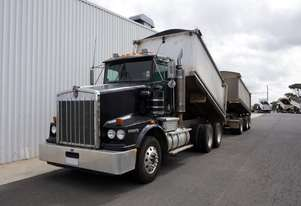 2002 Kenworth T650 Day Cab Alloy Tipper