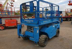 26ft rought terrain scissor lift
