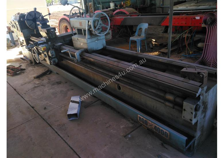 Metal Lathe For Sale >> Used Lzmt Lathe 800 X 4000 Metal Lathe In Nebo Qld Price 28 500