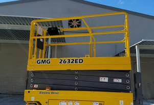 GMG 2632ED Electric Drive Slab Scissor Lift - With Industry First 10 x 5 Warranty