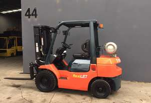 Toyota 42-7FG 25 2.5 Ton LPG forklift Container Mast - Refurbished & Repainted