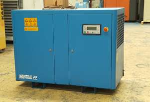 ***SOLD***Industrial 22DF Fully Featured Screw Compressor European Built