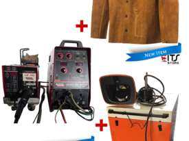 Lincoln MIG Welder Invertrec, Welding Jacket and Fume Extractor Exhaust Fan - picture0' - Click to enlarge