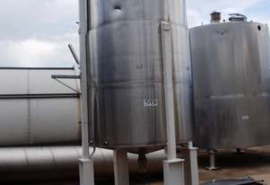 Stainless Steel Jacketed Mixing Tank, Capacity: 4,000Lt