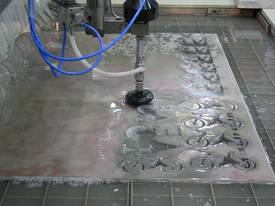 DARDI WATER JET PROFILING MACHINE - MODEL: DWJ1520 - picture4' - Click to enlarge