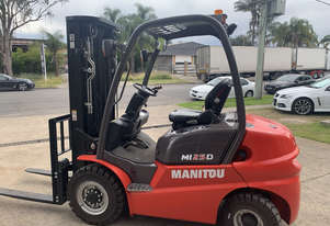 New 2.5 Tonne Manitou Forklift For Sale