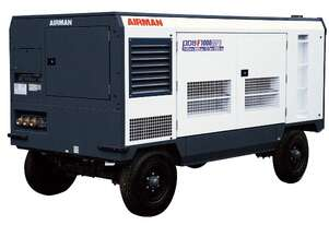 AIRMAN PDSF1000DPC-4C5: 1000cfm Portable Diesel Compressor on Wagon Wheels