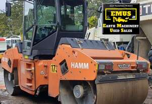 2001 Hamm Dual Drum Roller, low hours, E.M.U.S MS669
