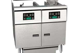 Anets FDAEP214C Platinum Electric Filter Fryer Computer Control
