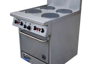 Goldstein PEC2S12G20 2 Electric Hotplate + Griddle 508mm High Speed Convection Oven