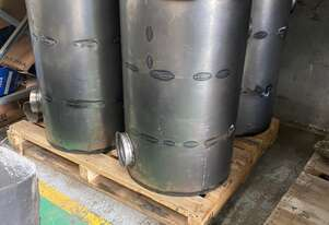 Volvo A40D/A40E Muffler includes tail pipe