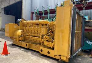 1500 KVA Caterpillar Diesel Generator Very low Hours (435 T/T) ex Standby from Hospital