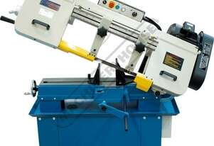 BS-916A Metal Cutting Band Saw - Swivel Vice Mitre Cuts Up To 45º, Quick Action Material Clamp & In