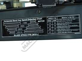 BS-916A Metal Cutting Band Saw - Swivel Vice 350 x 228mm (W x H) Rectangle Capacity - picture19' - Click to enlarge