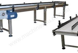 Stainless Steel Flat Belt Conveyors.