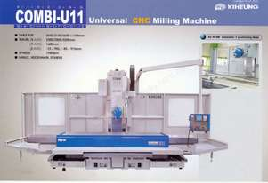 Combi U11 Vertical Milling Machine