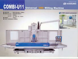 Combi U11 Vertical Milling Machine - picture0' - Click to enlarge
