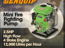 2.5HP Light Weight Fire Fighting/Transfer Pump - picture0' - Click to enlarge