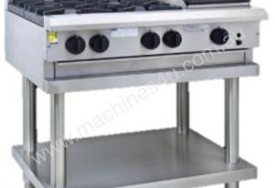 Luus CS-4B3P - 4 Burners, 300 Grill & Shelf