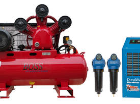 BOSS 35CFM Compressor with Dryer & Filter Package - picture0' - Click to enlarge