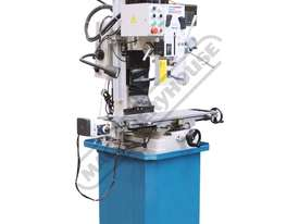 HM-48 Mill Drill - Geared & Tilting Head with DRO (X) 540mm (Y) 185mm (Z) 410mm Includes Digital Rea - picture3' - Click to enlarge