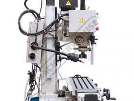 HM-48 Mill Drill - Geared & Tilting Head with DRO (X) 540mm (Y) 185mm (Z) 410mm Includes Digital Rea - picture8' - Click to enlarge