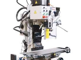 HM-48 Mill Drill - Geared & Tilting Head with DRO (X) 540mm (Y) 185mm (Z) 410mm Includes Digital Rea - picture7' - Click to enlarge