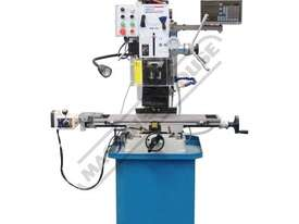 HM-48 Mill Drill - Geared & Tilting Head with DRO (X) 540mm (Y) 185mm (Z) 410mm Includes Digital Rea - picture2' - Click to enlarge