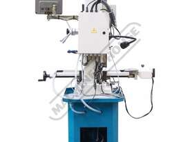 HM-48 Mill Drill - Geared & Tilting Head with DRO (X) 540mm (Y) 185mm (Z) 410mm Includes Digital Rea - picture4' - Click to enlarge