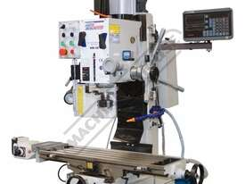 HM-48 Mill Drill - Geared & Tilting Head with DRO (X) 540mm (Y) 185mm (Z) 410mm Includes Digital Rea - picture5' - Click to enlarge