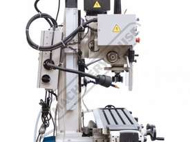 HM-48 Mill Drill - Geared & Tilting Head with Digital Readout System (X) 540mm (Y) 185mm (Z) 410mm I - picture8' - Click to enlarge