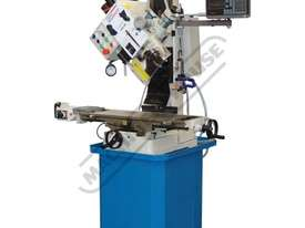 HM-48 Mill Drill - Geared & Tilting Head with Digital Readout System (X) 540mm (Y) 185mm (Z) 410mm I - picture10' - Click to enlarge