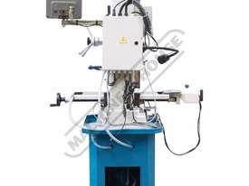 HM-48 Mill Drill - Geared & Tilting Head with Digital Readout System (X) 540mm (Y) 185mm (Z) 410mm I - picture4' - Click to enlarge