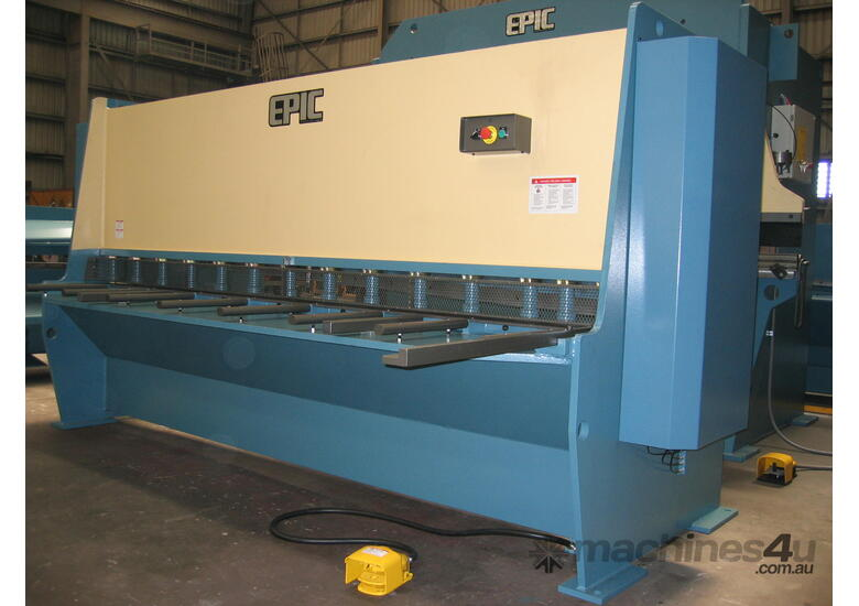 EPIC 3070 x 6.5mm Over Driven Individual Clamp Hydraulic Guillotine