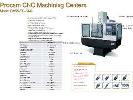Procam CNC Milling Machines - picture1' - Click to enlarge