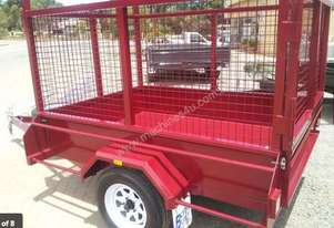 Blyth Built   7x5 cage trailer