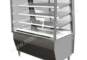 FPG 5C18-SQ-FF Refrigerated Integral 5000 Series Refrigerated Integral Square Display Cabinet -Fixed