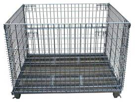 Pallet Cage Steel Wire Mesh - picture0' - Click to enlarge