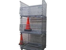 Pallet Cage Steel Wire Mesh - picture3' - Click to enlarge