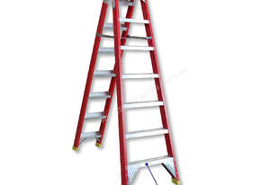 ST11106 - 2.0-3.9M FIBREGLASS DUAL PURPOSE LADDER