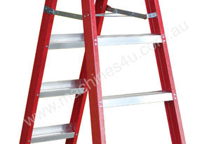 2.0 - 3.8m Fiberglass Dual Purpose Ladder