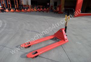 Pallet Jack 2.5Ton Capacity - 1400mm Long Tines