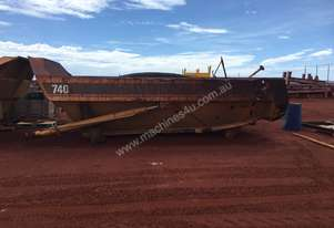 Caterpillar 740 Dump Truck Tray