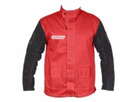 WELDMAX JACKET LARGE W/LEATHER SLEEVE
