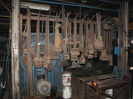 Blacksmiths power hammer tooling ex industrial spr - picture0' - Click to enlarge