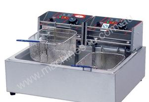 F.E.D. EF-83 Two Basket Single Vat Benchtop Electric Fryer