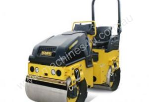 1.6 TONNE SMOOTH DRUM COMPACTION ROLLER W/ TRAILER