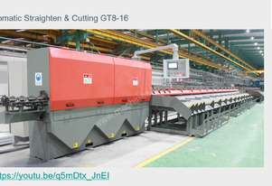 CNC wire straightening and cutting machine GT8-16